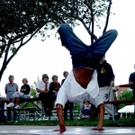 Breakdancing at 515 Alive