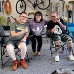 Ben, Kari, and Eddie