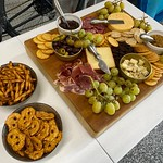 Kari loves putting a good charcuterie together for homebrewing